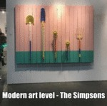 Modern Art Level - The Simpsons