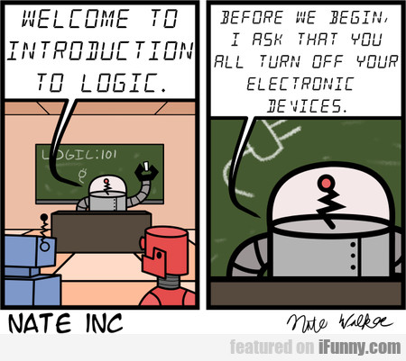 Welcome To Introduction To Logic. Before We Begin
