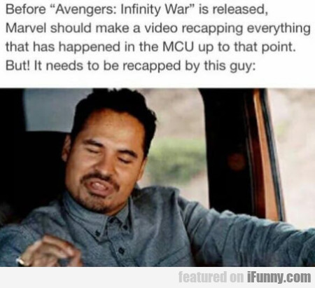 Before Avengers - Infinity War Is Released...