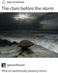 The Clam Before The Storm - What An Aesthetically