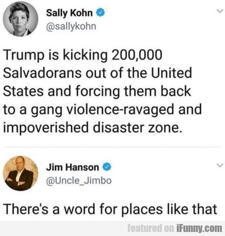 Trump Is Kicking 200000 Salvadorans Out Of...