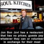 Jon Bon Jovi Has A Restaurant That Has No...