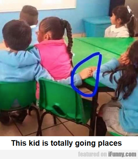 This Kid Is Totally Going Places