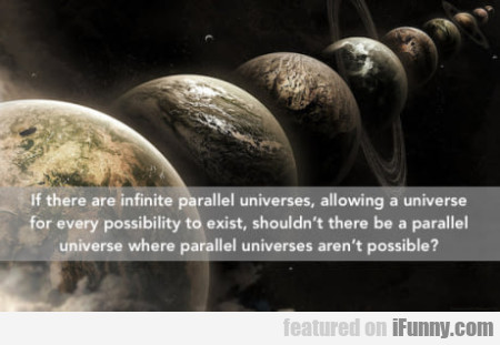 If There Are Infinite Parallel Universes...
