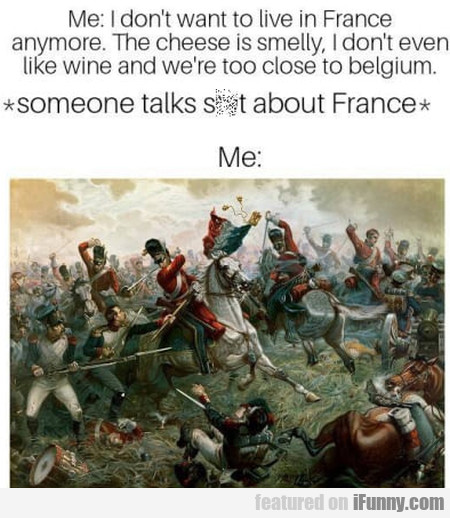 Me: I Don't Want To Live In France Anymore. The...