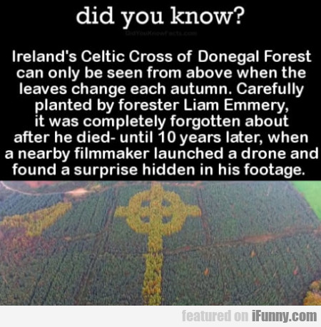 Did You Know? - Ireland's Celtic Cross Of...