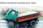 When Someone Touches Your Neck