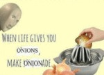 When Life Gives You Onions Make Onionade