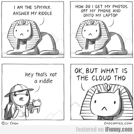 I Am The Sphynx. Answer My Riddle.