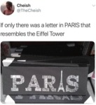If Only There Was A Letter In Paris That...