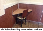 My Valentines Day Reservation Is Done