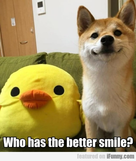 Who Has The Better Smile?