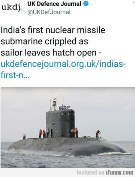 India's First Nuclear Missile Submarine...