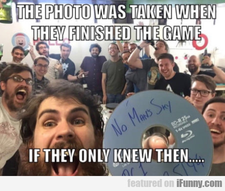 The Photo Was Taken When They Finished The Game...