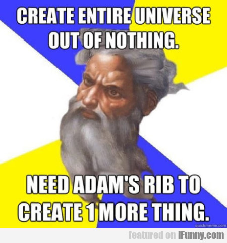 Create Entire Universe Out Of Nothing. Need...