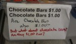Chocolate Bars $1.00 - Chocolate Bars $1.00...