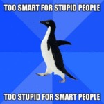 Too Smart For Stupid People - Too Stupid For...