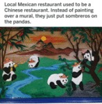 Local Mexican Restaurant Used To Be A Chinese..