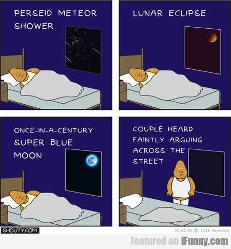 Perseid Meteor Shower... Lunar Eclipse... Once-in-
