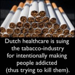 Dutch Healthcare Is Suing The Tobacco-industry...
