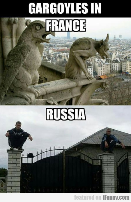 Gargoyles In France - Russia