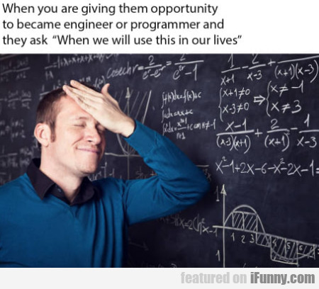 When You Are Giving Them Opportunity To Became...