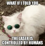 What If I Told You The Laser Is Controlled By...