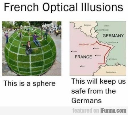 French Optical Illusions - This Is A Sphere...