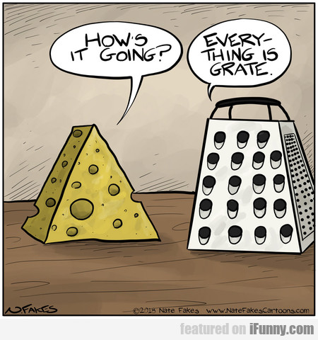 how's it going? everything is grate.
