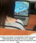 There's An Irony In Ignoring Your College...