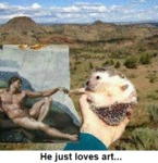 He Just Loves Art