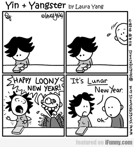 Happy Loony New Year!