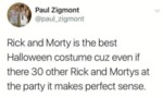Rick And Morty Is The Best Halloween Costume...