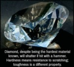 Diamond, Despite Being The Hardest Material...
