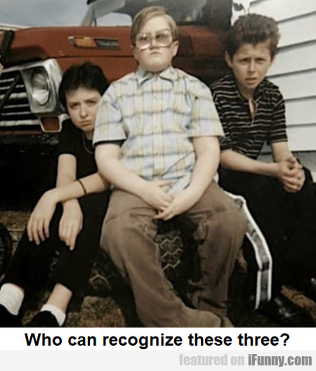 Who Can Recognize These Three?