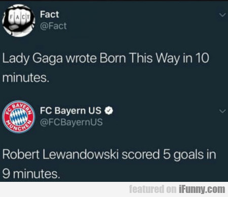 Lady Gaga Wrote Born This Way In 10 Minutes