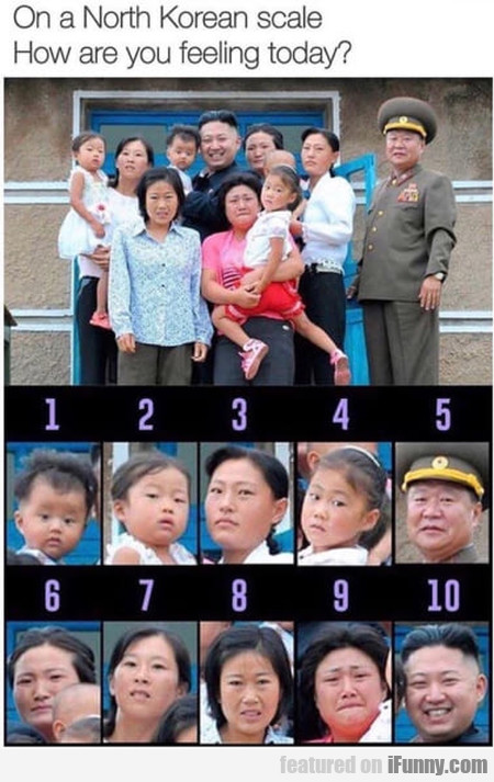 On A North Korean Scale How Are You Feeling...