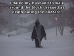I Dared My Husband To Walk Around The Block...