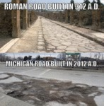 Roman Road Built In 312 A.d. - Michigan Road...