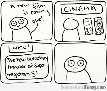 A New Film Is Coming Out! Cinema...
