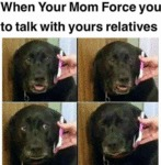 When Your Mom Force You To Talk With...