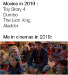 Movies In 2019 - Toy Story 4, Dumbo, The Lion...