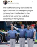 The Us Men's Curling Team Looks Like A Group...