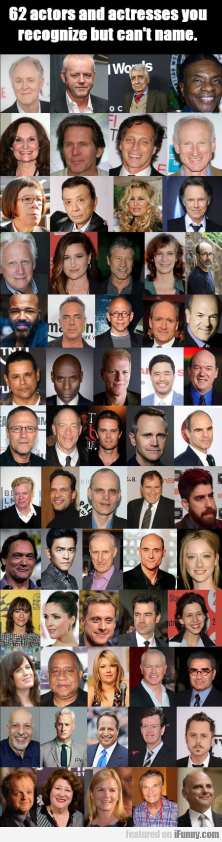 62 Actors And Actresses You Recognize But...