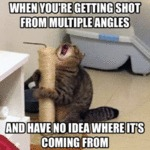 When You're Getting Shot From Multiple Angles...