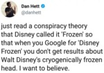 Just Read A Conspiracy Theory That Disney Called..