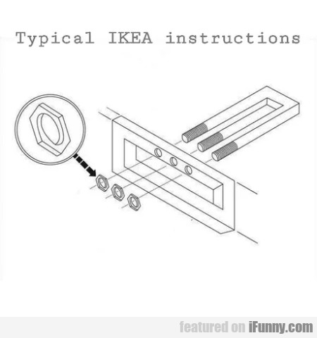 Typical Ikea Instructions