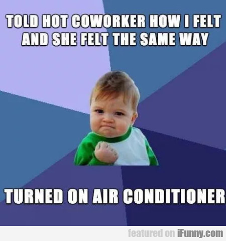 Told Hot Coworker How I Felt And She Felt The...