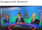 Savagery Level - Simpsons