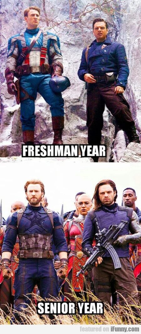 Freshman Year - Senior Year